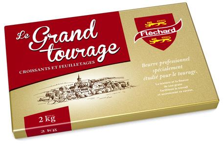flechard Beurre tourage feuilletage croissant